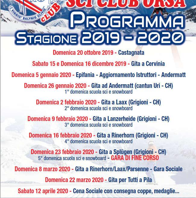 Iscrizione Stagione 2019/2020 | Aperte le Iscrizioni!!!!