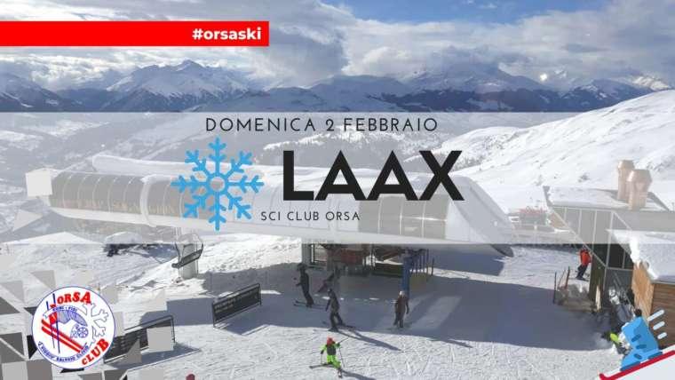 LAAX – Domenica 2 Febbraio